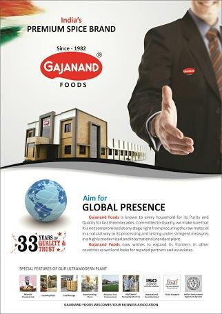 Gajanand foods is best quality exporters from India. We have wide range of products in indian spices like chilly powder, turmeric powder, garam masala, instant mix products. - by Gajanand Foods Pvt Ltd , Santej