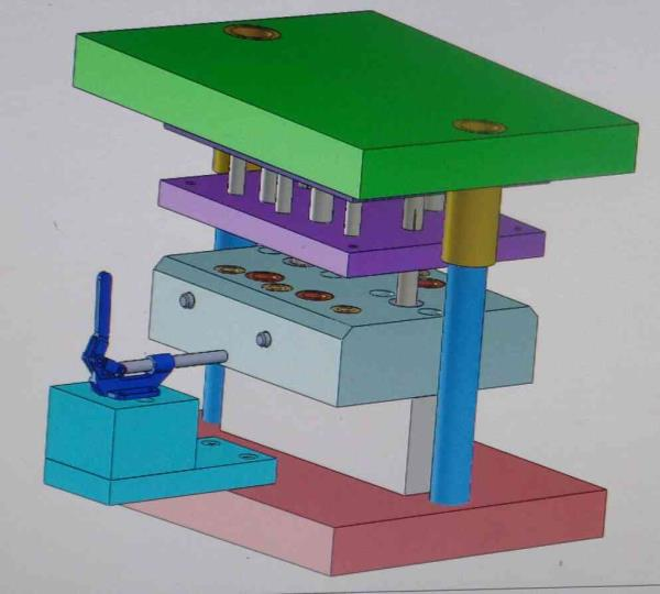 Sheet metal press tool manufacturer in india - by Akm Engineering Indore, Indore