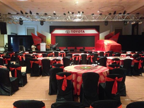 NEW TOYOTA INNOVA CRISTA  LAUNCHING EVENT  - by Vakratunda Events, Indore