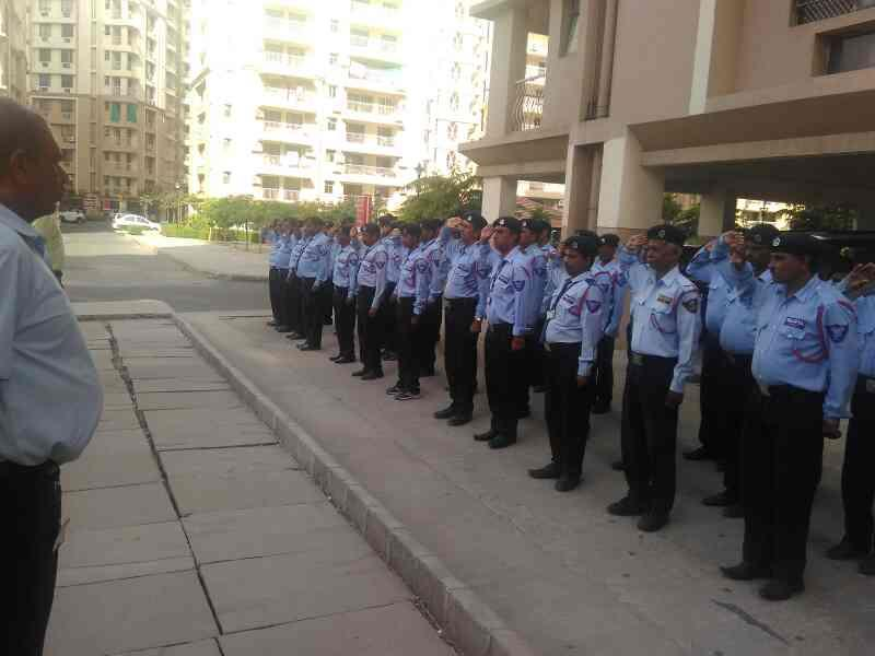 security guard training at Rangoli gardens  - by Bajiya Security Services Pvt Ltd, Jaipur