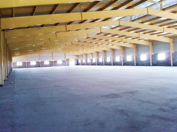 Single skin Roof with thermal reflective insulation - by ROOTS FABS Pvt Ltd, Chennai