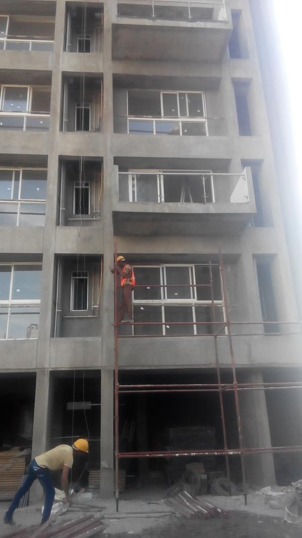 we are provide scaffolding on hire basis also we have well trained labour who expert in installation of scaffolding. - by Choudhary Scaffolding, Pune