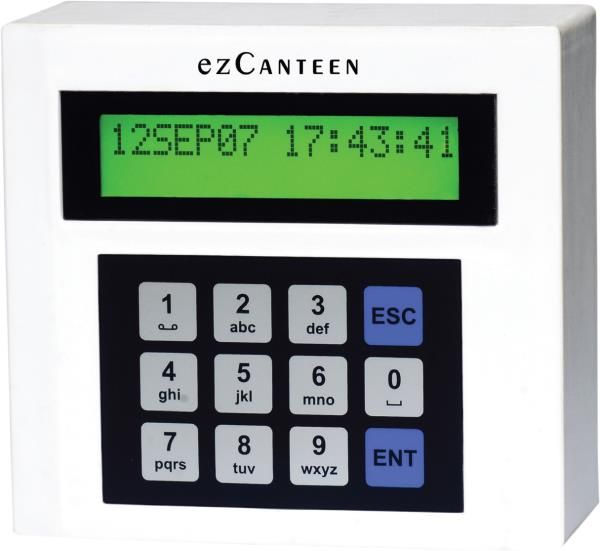CM800 is a canteen recording system with Keypad based. It is a field proven product being used by many clients for very long time. It comes up with various options to suit varied requirements. It has been seamlessly integrated with Mifare & - by Resilient Technologies, Gurgaon