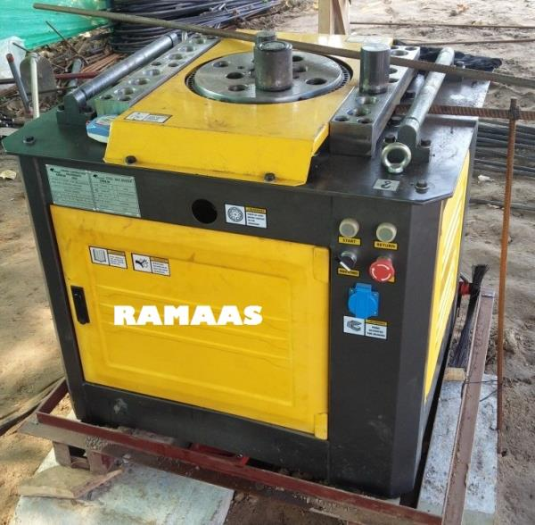 Bar Bending Machine Electrically Operated Bending Range: 32mm, 40mm - by RAMAAS ENTERPRISES, Coimbatore