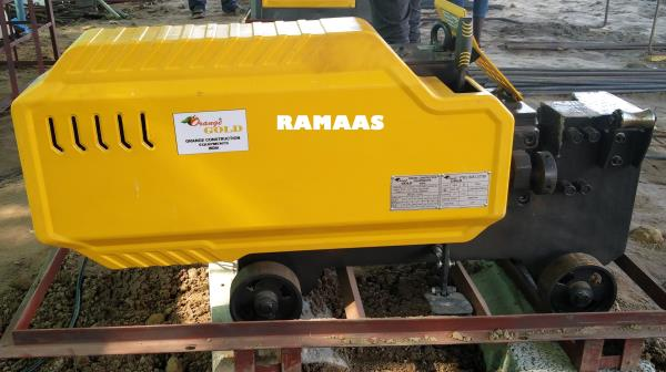Bar Cutting Machine Electrically Operated . Cutting range of TMT bars: 32mm, 40 mm - by RAMAAS ENTERPRISES, Coimbatore