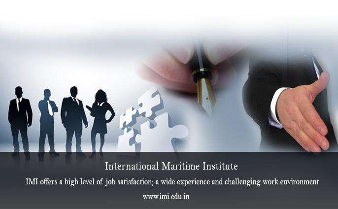IMI offers a high level of job satisfaction; a wide experience and challenging work environment. Experienced Mariners are in great demand in various shore assignments because of their ability to handle all types of jobs, their resourcefulne - by International Maritime Institute, Noida India
