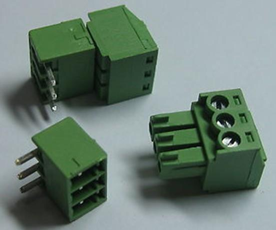 Combicon pluggable terminal block  We deal with 2 way , 3 way , 4 way , 5 way , 7 way terminal block  - by a2zelectronic.com, Chennai