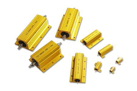 Aluminium housed resistor  Designed for direct heat sink mounting - by a2zelectronic.com, Chennai