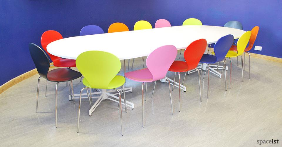 Cafeteria furniture  Our entire range of product is manufactured by company experts in modern production department. They follow all the guidelines and norms of the firm in while processing  - by SRI SAI RAM INDUSTRIES    9840021056, Chennai