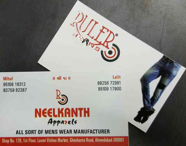 Buy High Quality Jeans in Ahmedabad - by Ruler Jeans, Ahmedabad