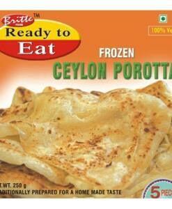 Ready to Eat – Frozen Ceylon Porotta in tuticorin    - by Britto Seafood Exports Pvt Ltd, Chennai