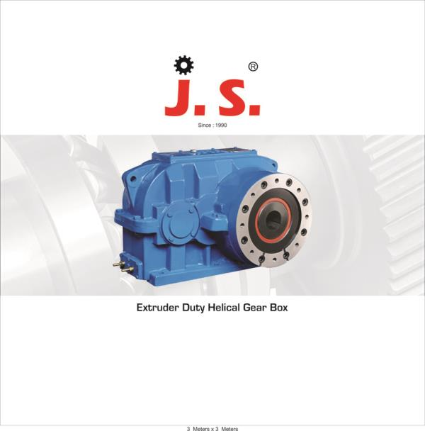 Extruder Duty Helical Gearboxes  Rigit Design Available in: Single stage & two stage Extruder duty Helical Gearboxes Ratio: 6:1 To 22:1 Case: Graded cast Iron Gears: Made from high graded alloy steel, harden and precision profile ground to  - by J S Engineering Works, Ahmedabad