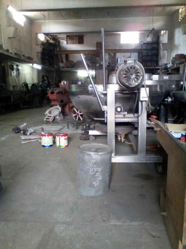 We are manufacturing and supplying of Halwa Making Machine with best quality in rajkot. - by Akshar Machine Tools, Rajkot