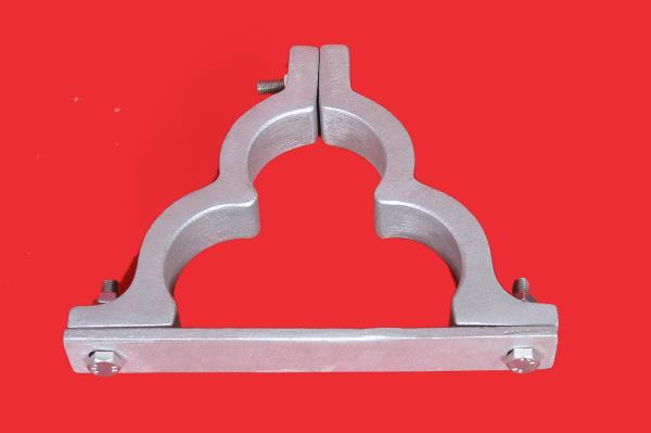 We pleased to introduced our economical range of Aluminum Trefoil Clamp in Chennai to give a solidity and long lasting quality with best price, we provide the material with the most quickest delivery and quality service. click on the below  - by Sarju Agency, Chennai