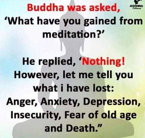 Benefits of Meditation - Buddha's Best Answer - by Diabetes Cure Without Medicines, Bangalore