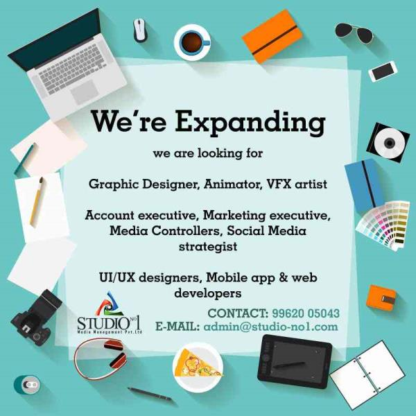 We are the Best AD AGENCIES in Chennai. - by STUDIO NO1, Chennai