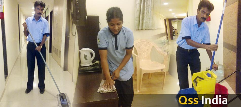 Manpower outsourcing in Indira nagar bangalore - by Qss Facilities Service, Bangalore