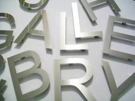 We are steel letter manufacture  - by Vishwas Glow Sign, Ahmedabad