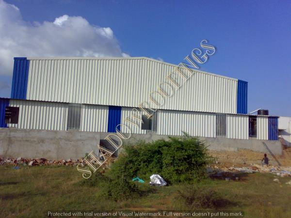 leading Warehouse Shed Contractors in Chennai                We are the best Warehouse Shed Contractors in Chennai, we are having vast experience in Industrial Roofings, we have completed several Industrial Warehouse Sheds in an around Srip - by SHADOW  ROOFINGS                                             CALL : 9840311999, Chennai