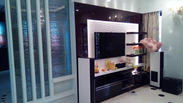 Designer TV Units manufactures   at Varthur main road Bangalore.  www.tectonafurnitures.com - by Tectona Grandis, Bangalore