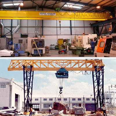 E.O.T Cranes Manufacturers in Chennai    We Manufacture High Efficiency Cranes, which are divided in four parts as per Indian Standard Specifications 807 and 3177 - light duty, medium duty, heavy duty and extra heavy duty. - by Neo Ropes, Chennai