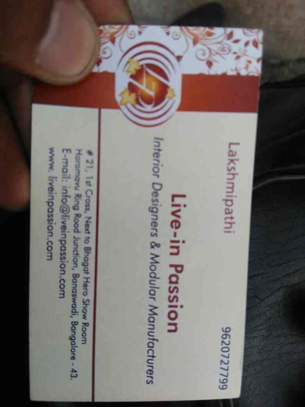 best interior designers in horamavu bangalore - by live in passion, Bengaluru