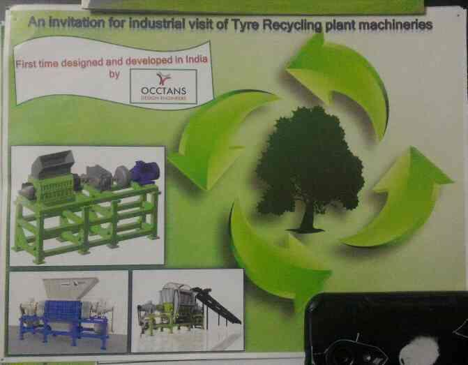 We Occtans is one of the best consultant of tyre recycling plant in Ahmedabad. We are working with software to design mechanism for tyre recycling machineries.. - by Occtans design Engineer , Ahmedabad