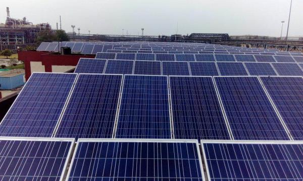 1 mw solar roof top power plant at Iocl panipat has installed successfully.  - by Esso Fab Tech Pvt Ltd., Ahmedabad