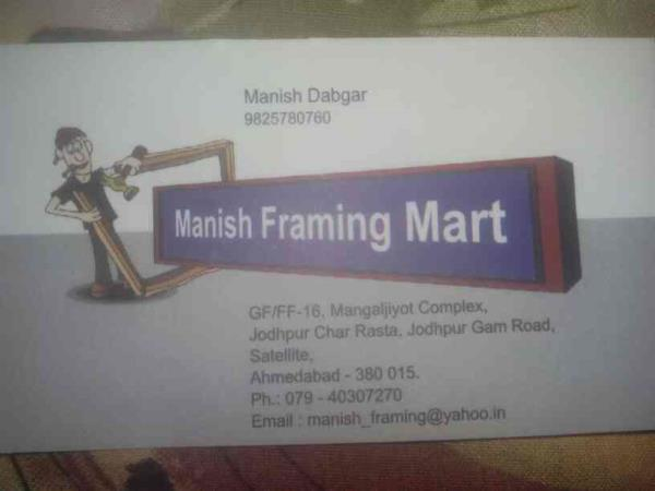 For any kind of framing enquiries you can directly contact us for the same.  In bulk quantity orders we provide a very good discount. - by Manish Framing Mart, Ahmedabd