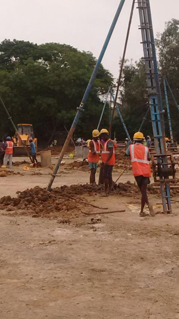 BEST PILE FOUNDATIONS OVER TAMIL NADU  Lime And Sand Pile - by Bedrock Pile Foundation 9840348197, Chennai
