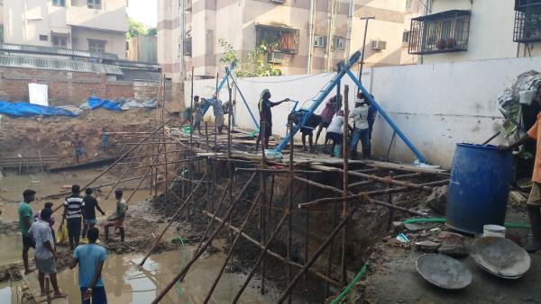 BEST PILE FOUNDATIONS OVER TAMIL NADU  Under Reamed Pile - by Bedrock Pile Foundation 9840348197, Chennai