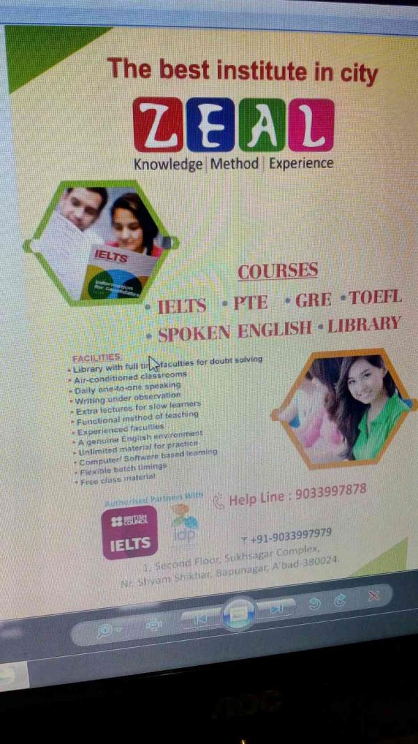 we are best coaching classes for ielts in bapunagar ahmedabad - by Zeal Immigration , Ahmedabad