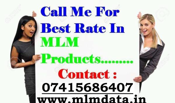 हम आपके साथ है. हम आपके बिज़नेस को इंडिया के हर mlm leader तक पंहुचा देंगे   साथ में आपको देंगे इंडिया के टॉप 2 लाख mlm leader के mobile, whatsapp Number, email Id भी जिससे आपका प्लान भारत के कोने कोने तक में पहुंचेगा visit http://www.mlmdat - by MLM DATA, DELHI