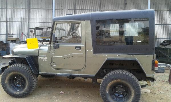 We are Manufacturers And Suppliers Of Hardtop For Thar Jeep In Tamilnadu. Thar Hardtop In India Thar Hardtop In Hyderabad Thar Hardtop - by Fibre Smith, Coimbatore