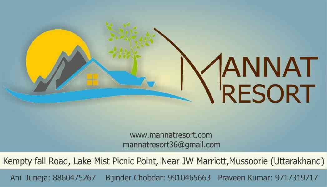 MannatResort Mussoorie Uttarakhand Bookings Contact 9910465663 - by BIGMUZIC EVENTS, New Delhi