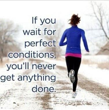 Do not wait just run on current situation  - by Nidhi, Indore