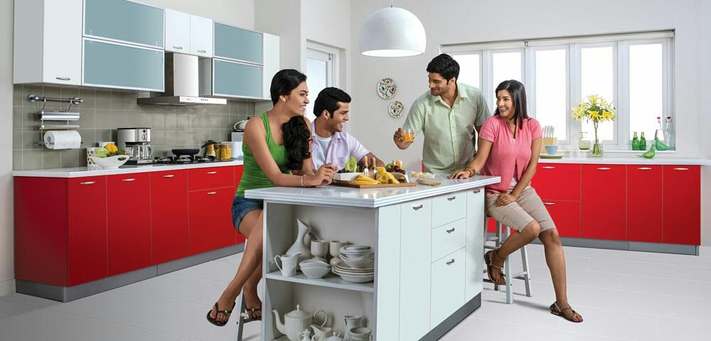 About Ergonomics in Kitchens  An ideal kitchen is planned as per the below mentioned components. Ergonomics of Kitchen: Segregated into 3 major areas based on the placement of most used, less frequently used and infrequently used kitchen it - by Surabhi Kitchens & Interiors, Bengaluru
