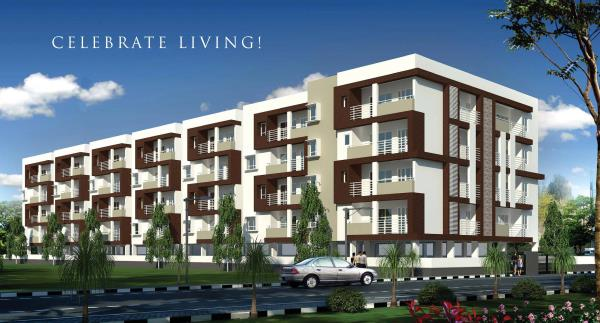 Unfurnished Luxuries Flats at Whitefield  Unfurnished 2BHK & 3BHK luxurious flat at Whitefield Zinnia Residency project is Luxury Flats with high end specifications and approved by BBMP, Ground + 3 Floors, altogether 48 Luxury Flats with wo - by Indiprop.com, Bengaluru