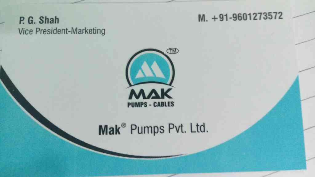 we are leading manufacturer in openwell pump in Ahmedabad  - by Mak Pump, Ahmedabad