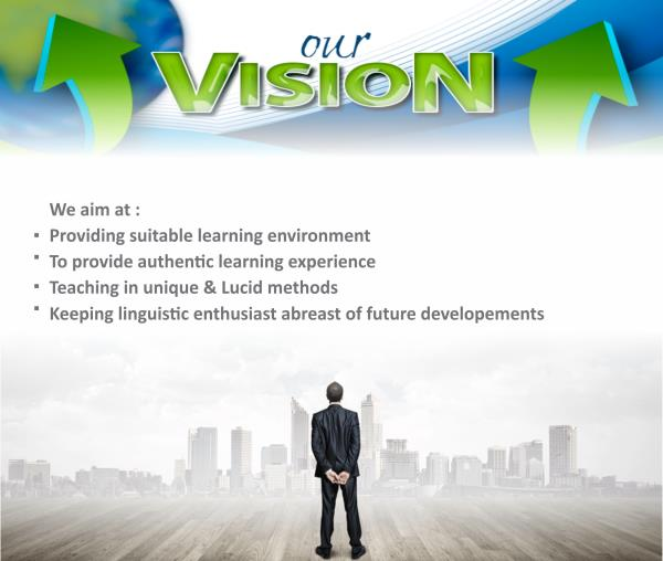 Our Vision - by Ashoksir - IELTS Trainer, Ahmedabad