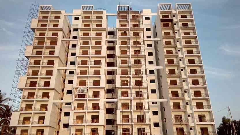 luxury 2bhk apartment in varthur main road jest for @ 55lkhs  - by Budhra Infra, Bengaluru