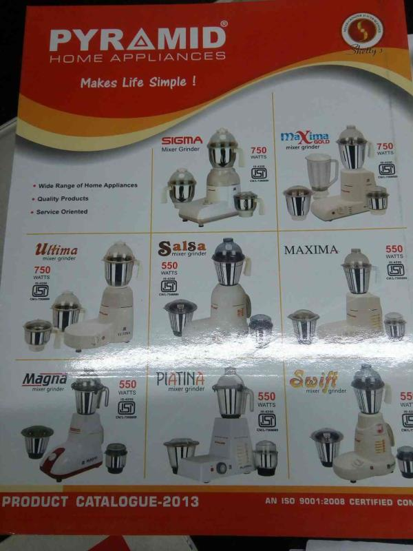 we are prominent suppliers of quality home appliances in rajkot - by Real Corporation, Rajkot