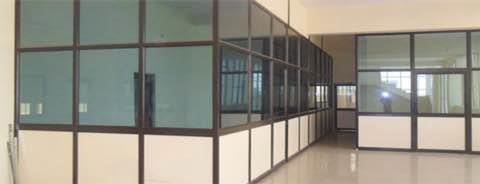 Aluminium Interior Work   We offer our clients Aluminum Sliding Window. These windows come in variegated colors, sizes and shapes. Our windows are fabricated using premium quality material and hence impart an elegant look to any structure.  - by AVR Interiors, Tiruchirappalli