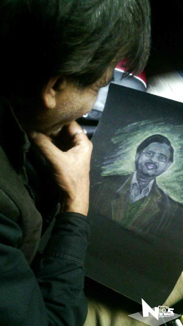 first oil postal painting by Naman artist in bareilly - by Naman Arts, Bareilly