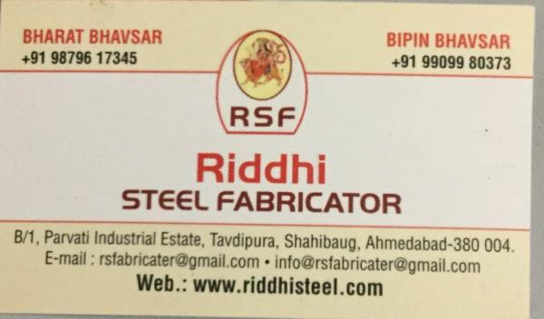 we riddhi steel fabricator is one of the leading manufacturer and suppliers of storage racks, kitchen equipments, fire products and roller conveyor in India  - by Riddhi Steel Fabricator, Ahmedabad