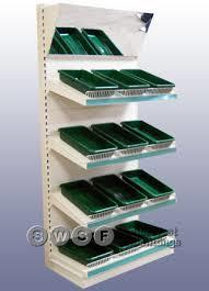 Rack System:  We have customized rack system like shopping mall rack system, storage rack system, medicine rack system in ahmedabad - by Riddhi Steel Fabricator, Ahmedabad