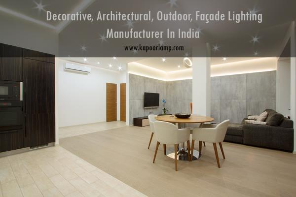 Lighting apartments presents a unique challenge - factors such as fixture size, design continuity and heat dissipation surface to the forefront.....for more information visit our site......http://light.kapoorlamp.com/  apartment light manuf - by Decorative, Architectural, Outdoor, Façade Lighting Manufacturer in India. Since 1948., Delhi