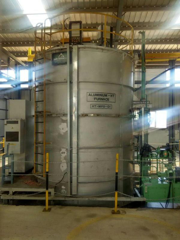 DROP BOTTOM HEAT TREATMENT FURNACE   - by SHOEI FINISHING PVT. LTD., Pune