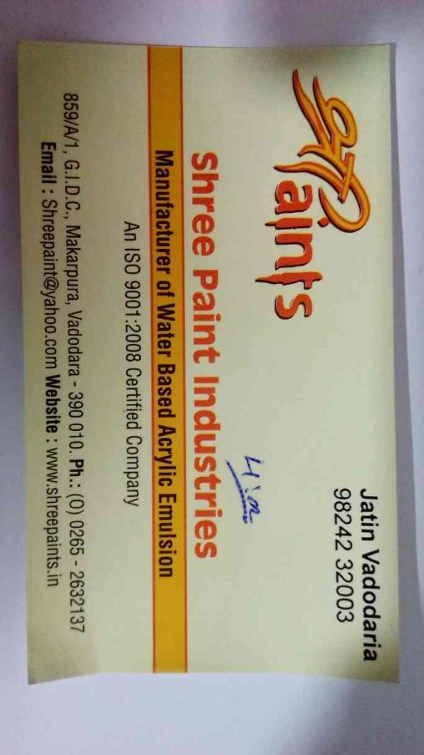 we are leading paints manufacturer in Vadodara Gujarat we provide delivery all Gujarat , Maharashtra, MP. - by Shree Paints, Vadodara