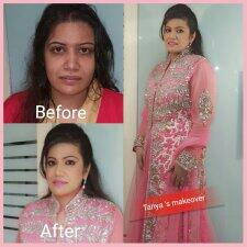 we are the one of the best make up artist in delhi - by Tanya Puri Makeup Artist, New Delhi